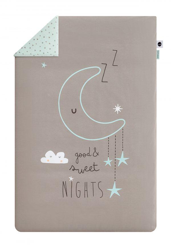 Ropa de cuna bimbidreams coleccion sweet nights menta